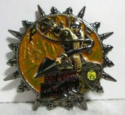 Mortal Kombat Movie Scorpion Nypd Police Challenge Coin 2.5in Video Game Dragon