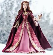 """Disney Limited Edition Beauty And The Beast Belle Winter 17"""" Doll Le 5,000"""