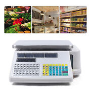 30kg Digital Electronic Price Computing Retail Count Price Scale For Supermarket