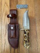 Vintage Schrade Uncle Henry 171uh Knife W/sheath And Sharpening Stone