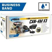 Can-am X3 Complete Utv Communication Kit With Dash Mount Behind The Head Headset