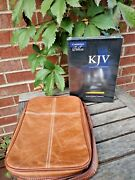 Sealed Cambridge Kjv Large Print Text Bible French Morocco Genuine Leather Cover