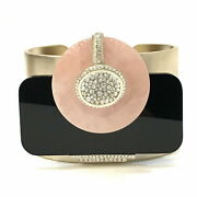 Bangle Pink Black Gold Previously Ownedarrivals From Japan Fedex No.5590