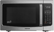 Smart Countertop Microwave Oven Humidity Sound On Off Function 1100w 1.3 Cu Ft
