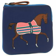 Hermes Mini Pouch Vaux Swift Hose Horse Stamp From Japan Fedex No.6100