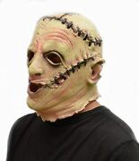 Halloween Scary Realistic Latex Costume Ugly Mask Leatherface Texas Chainsaw