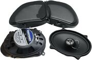 Hogtunes 5x7 Front Replacement 2 Ohm Speakers For 06-13 Fltr/fltru 3572-aa