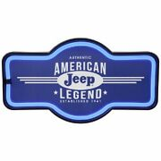 Light Up Jeep Sign Wall Decor Lights Like Neon Usb Or Battery Man Cave Garage