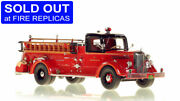 Chicago Fd 1949 Mack L Coupe Engine 83 1/50 Fire Replicas Fr077-83 Sold Out