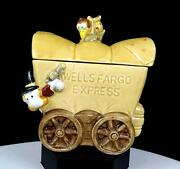 Studio Art Pottery Signed Wells Fargo Express 5 1/8 Covered Wagon