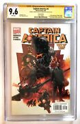 Captain America 6 Cgc Ss 9.6 Signed+inscribed Sebastian Stan 1st Winter Soldier