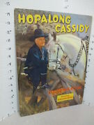 Hopalong Cassidy 1950s Tv Cowboy Western Comic Coloring Book Unused 48p Lowe