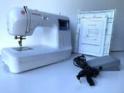 Singer Professional 9100 Computerized Sewing Machine With Original Manual