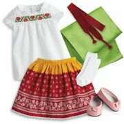 American Girl Josefinaand039s Festival Outfit For 18-inch Dolls New Retired
