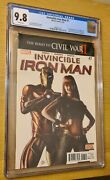 Invincible Iron Man 7 Cgc 9.8 White Pages - 1st Appearance Riri Williams Hot