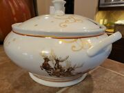 Williams Sonoma Twas The Night Before Christmas Soup Tureen With Ladle