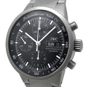 Gst Chronograph Iw370703 Automatic Black Dial Day-date Titanium Menand039s