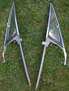 Super Rare Chevrolet 1965-69 Corvair Driver Side And Passenger Side Vent Windows