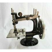 From 1920 Antique Mini Size Singer Arm Sewing Machine In Working Condition