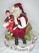 Mark Roberts All I Want For Christmas Is My Two Front Teeth Centerpiece Signed