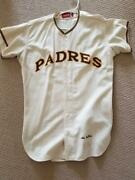 San Diego Padres Game Used Flannel Jersey