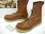 Dead Stock Red Wing Red Wing Made In 1989 Old Dog Tag Usa 877 Mock Toe Boot