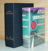 Ayn Rand Atlas Shrugged First Edition In Clamshell Box. Superb Condition