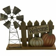Rustic Country Farmhouse Welcome Sign Fall Tabletop Decor New Free Shipping