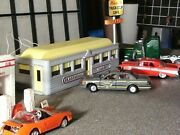 Vintage Plasticville Diner Andgas Station For Lionel And American Flyer O And S Trains