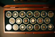 20 Centuries 20 Coins Ad Set Ancient, Etc.and In Display With Coa Nice Set Look
