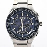 Seiko A-dish Astron Menand039s Watches Sbxb155 Blue Mens Previously Owned No.5208