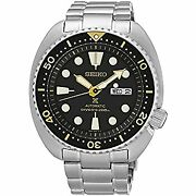 Seiko Imported Goods Srp775 Automatic Diver Made Of Stainless Steel No.5233