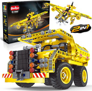 Truck Airplane Toy Safe Diy Building High Quality 6-12 Years Old Set 361 Pcs