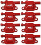 Msd 82668 Gen V Ignition Coil Blaster Fits 14-18 Gmc/chevy/cadillac - 8 Pc