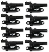 Msd 826883 Gen V Ignition Coil Blaster Fits 14-18 Gmc/chevy/cadillac - 8 Pc