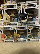 Big Bang Theory Sdcc 2019 Lot Complete Set Justice League