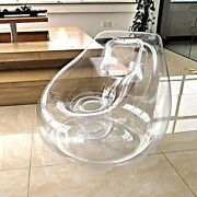 Inflatable Couch Chair Sofa,camping Furniture,blow Up Couch Bean Transparent