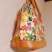 Aulani Limited Edition Handbag Minnie Floral Dooney And Bourke Disney From Japan