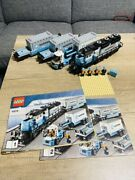 Lego Creator 10219 Maersk Train 100 From Japan Import Good Condition