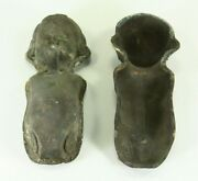= Antique Ea.1900and039s Cast Metal Doll Mold Industrial For Celluloid Dolls Rare