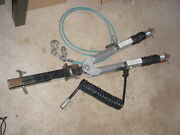 Nice Used Blue Ox Car Auto Tow Bar Model Bx4325 And Aladdin 2 Receiver - Silver
