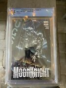 Vengeance Of Moon Knight 1 Cbcs 9.8 Finch Variant Cover Marvel Comics 2009