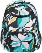 Roxy Shadow Swell Printed 24l Backpack - Anthracite Paradiso - New
