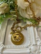 Cc Mark 1980s Necklace Vintage Accessories Goods From Japanese K11264