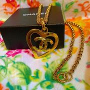 Cc Mark Necklace Vintage Accessories Goods From Japanese K11267