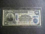 Series 1902 10.00 The Nicodemus National Bank Of Hagerstown Md
