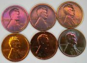 1916-1917 P D S Lincoln Wheat Cent Penny 2 Sets Awesome Looking Set Of Coins