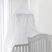 Jeroray-kids Bed Canopy For Girls Boys Playroom– Premium Chiffon Crib Canopy For
