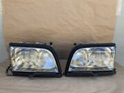 97-99 Mercedes W140 S600 S420 S500 S320 Xenon Hid Headlight Pair Left And Right