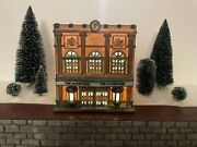 Dept 56 Heritage Village Christmas In The City The Palace Theater Rare
